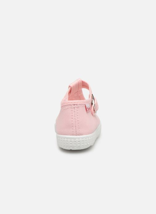 Trainers Cienta Foliv Pink view from the right